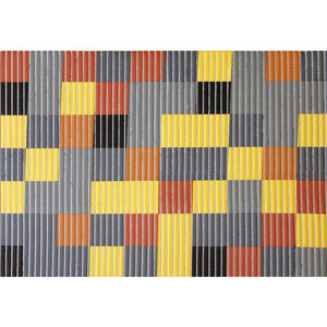 Passadeira á Metro Pixel Colorida 43cm
