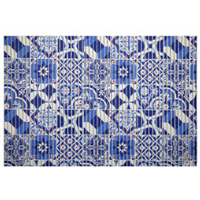 Passadeira Azulejo Português Azul 15x0,65m