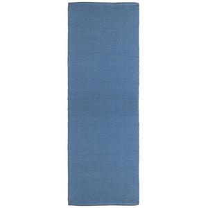 Passadeira Franjado Azul 0,60x1,80m