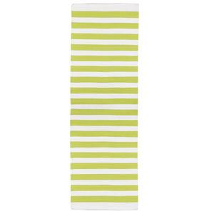 Passadeira Listrada Verde 0,60x1,80m