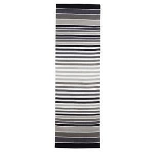 Passadeira Listradinha Cinza e Branca 0,60x1,80m