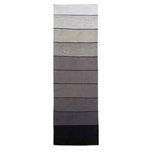 Passadeira Listradinha Preta e Branca 0,60x1,80m