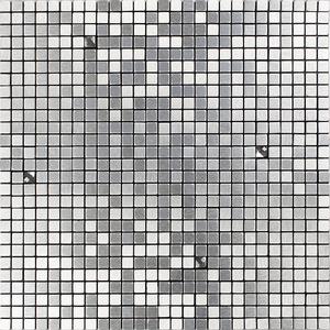 Pastilha AL800 30,5x30,5cm Glass Mosaic