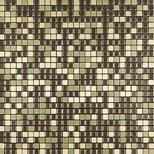 Pastilha Autoadesiva AL500 30,5x30,5cm Glass Mosaic