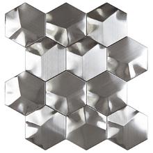 Pastilha AX25 26x30,6cm Glass Mosaic