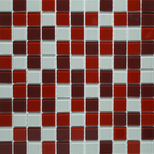 Pastilha Cristal MIX2516 30x30cm Glass Mosaic