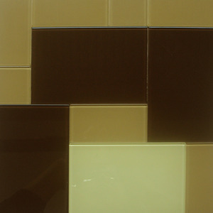 Pastilha Cristal Verona Mix Bege e Marrom 30x30 cm Vetromani