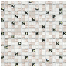 Pastilha D331 30x30cm Glass Mosaic