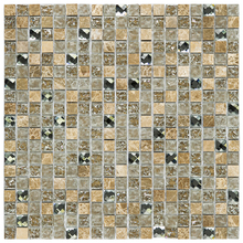 Pastilha D334 30x30cm Glass Mosaic