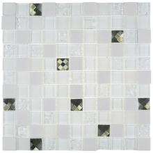 Pastilha D336 29x29cm Glass Mosaic