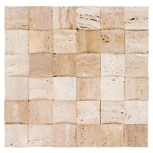 Mosaico relevo natus bege 30x30cm colortil leroy merlin - Mosaico leroy merlin ...