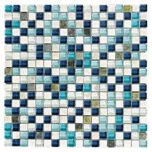 Pastilha de Pedra/Vidro Azul GS095-1 30x30cm Colortil
