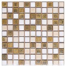 Pastilha de Porcelana Bege 2,5x2,5
