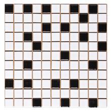 Pastilha de Porcelana Ponto Preto 2,5x2,5