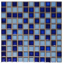 Pastilha de Porcelanaelana Azul Mesclado 2,5x2,5
