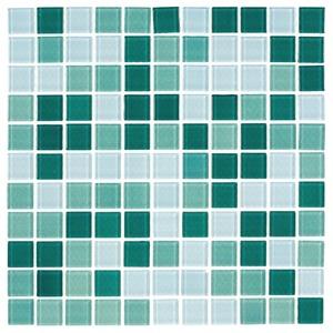 Pastilha esmeralda 30x30cm vidro real leroy merlin - Bomba para piscinas leroy merlin ...