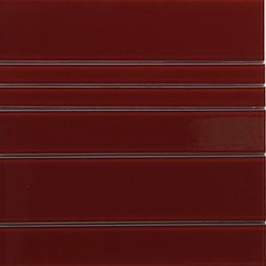 Pastilha Filete Florença Vermelho 30X31,2 cm Vetromani