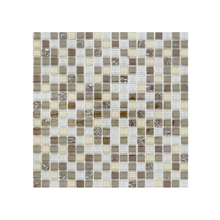 Pastilha GG13 30x30cm Bege Glass Mosaic