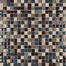 Pastilha Glass Stone GS112 31x31cm Glass Mosaic