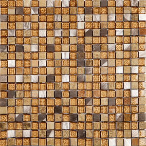 Pastilha Glass Stone GS201  31x31cm Glass Mosaic