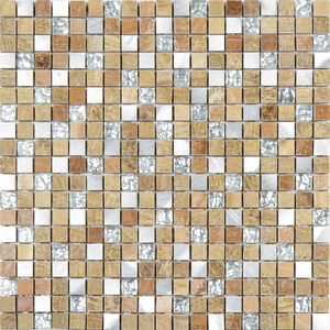 Pastilha Glass Stone GS202 31x31cm Glass Mosaic