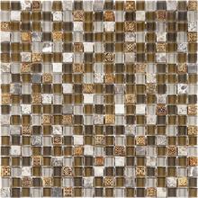 Pastilha Glass Stone GS205  31x31cm Glass Mosaic