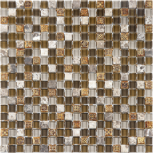 Pastilha Glass Stone GS205  31x31cm Glass Mosaic