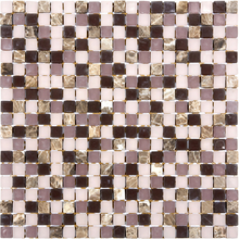 Pastilha Glass Stone GS502 31x31cm Glass Mosaic