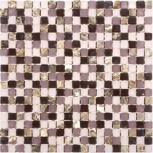 Pastilha Glass Stone GS502 31x31cm Glass Mosaic