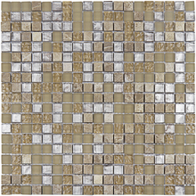 Pastilha Glass Stone GS904  31x31cm Glass Mosaic