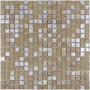 Pastilha Glass Stone GS904  31x31cm Glass Mosaic
