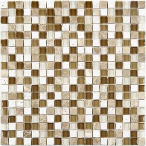 Pastilha Glass Stone GS909  31x31cm Glass Mosaic