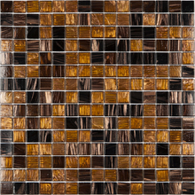 Pastilha Gold GDM01 31,5x31,5cm Glass Mosaic