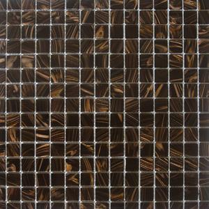 Pastilha Gold Marrom 32,7X32,7 cm Vetromani