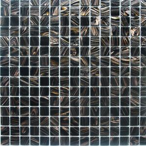 Pastilha Gold Preto 32,7X32,7 cm Vetromani