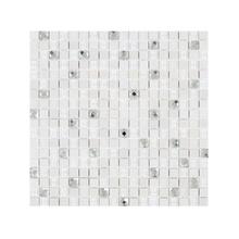 Pastilha GS110 Branca 30x30cm Glass Mosaic