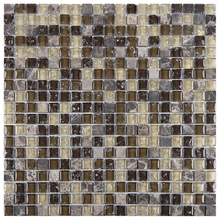 Pastilha GS906 30x30cm Glass Mosaic