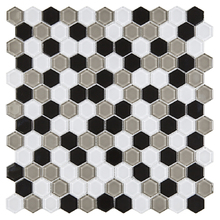 Pastilha HX02 32,1x32,1cm Glass Mosaic