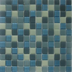 Pastilha Illuminare Azul 30x30 cm Vetromani