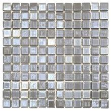 Pastilha Irirs Platina 30,5x30,5cm Vidro Real