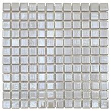 Pastilha Iris Branco Artico 30,5x30,5cm Vidro Real