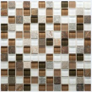 Pastilha Jasper Stone 29x29cm Crystalcor