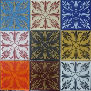 Pastilha Ladrilho Giesta Colorido 30,6X30,6 cm Vetromani