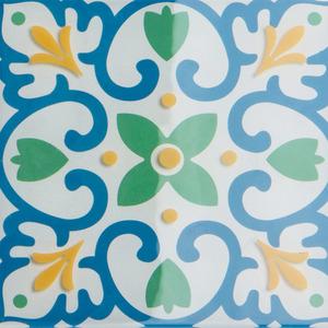 Pastilha Ladrilho Piastrella Colorido 30,3X30,3 cm Vetromani