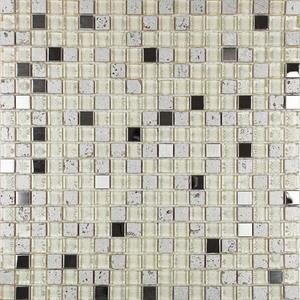 Pastilha Machu Pocchu MP500  31x31cm Glass Mosaic