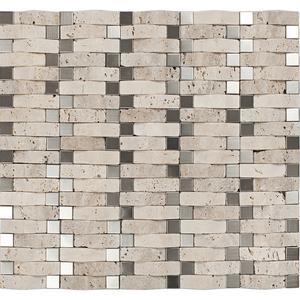 Pastilha Mármore  33,5x30,5cm Glass Mosaic