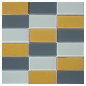 Pastilha Mix Amarelo 30,6x31,5cm Vetromani