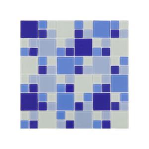 Pastilha Mix Oriente Azul 30x30cm Artens