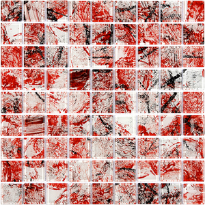 Pastilha Monet KL24 29,2x29,2cm Glass Mosaic