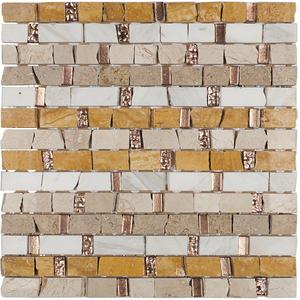 Pastilha MR46 30,5x30,5cm Glass Mosaic